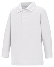 Classroom Uniforms 58350  Preschool  Ls Pique Polo at GotApparel