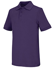 Classroom Uniforms 58912  Youth  Short Sleeve Interlock Polo at GotApparel