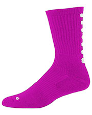 Augusta 6091 Women Color Block Compression Crew Sock at GotApparel