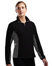 TRI-MOUNTAIN PERFORMANCE 621 Women Dash 1/4 Zip Long Sleeve Ultracool Pullover at GotApparel