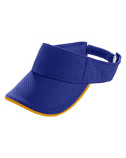Augusta 6223 Men Athletic Mesh TwoColor Visor at GotApparel