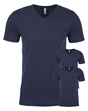 Next Level 6240 Men Premium Cvc V-Neck Tee 3-Pack at GotApparel