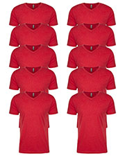 Next Level 6240 Men Premium Cvc V-Neck Tee 10-Pack at GotApparel