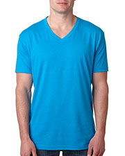 Next Level 6240 Men Premium CVC V-Neck Tee at GotApparel