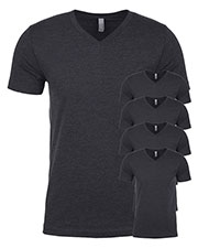 Next Level 6240 Men Premium Cvc V-Neck Tee 5-Pack at GotApparel
