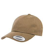 Yupoong 6245pt  Peached Cotton Twill Dad Cap at GotApparel