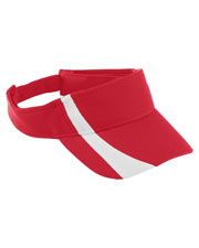 Augusta 6260 Men Adjustable Wicking Mesh TwoColor Visor at GotApparel