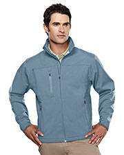 TRI-MOUNTAIN PERFORMANCE 6400 Men Flight Poly Stretch Bonded Soft Shell Jacket at GotApparel