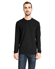 Next Level 6411  Sueded Long-Sleeve Crew at GotApparel