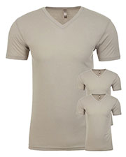 Next Level 6440 Men Premium Fitted Sueded V-Neck Tee 3-Pack at GotApparel