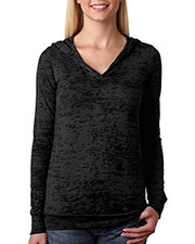 Next Level 6521 Women The Burnout Hoody at GotApparel
