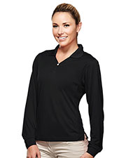 TM Performance 656 Women Ultracool Pique Y-Neck Golf Shirt at GotApparel