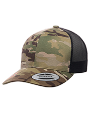 Yupoong 6606MC  Retro Trucker Multicam® Snapback at GotApparel