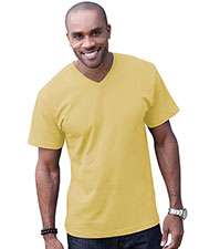 LAT 6907 Adult Fine Jersey V-Neck Short-Sleeve T-Shirt at GotApparel
