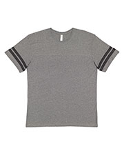 LAT 6937 Men's Vintage Football Short Sleeve T-Shirt at GotApparel