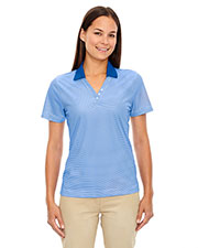 Extreme 75115 Women's Eperformance™ Launch Snag Protection Striped Polo at GotApparel