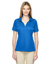 Extreme 75118 Women's Eperformance™ Propel Interlock Polo with Contrast Tape at GotApparel