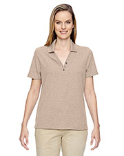 North End 75121 Women's Excursion Nomad Performance Waffle Polo at GotApparel