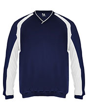 Badger Sportswear 7602 Men Athletic Performance V-Neck Windshirt at GotApparel