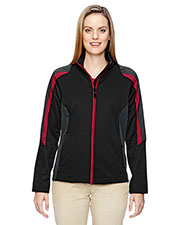 North End 78201 Women Strike Colorblock Fleece Jacket at GotApparel