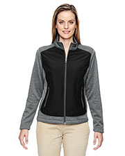 North End 78202 Women Victory Hybrid Performance Fleece Jacket at GotApparel
