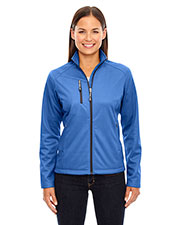 North End 78213 Women Trace Printed Fleece Jacket at GotApparel