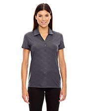 North End 78659 Women's Maze Performance Stretch Embossed Print Polo at GotApparel