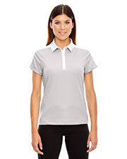 North End 78676 Women's Symmetry UTK cool.logik™ Coffee Performance Polo at GotApparel