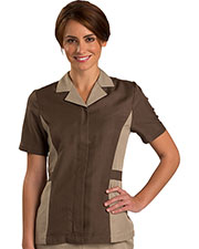Edwards 7890 Women 's Short Sleeve Tunic at GotApparel