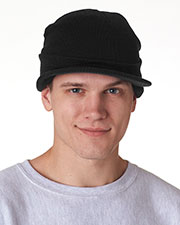 UltraClub 8133 Unisex Knit Beanie with Lid at GotApparel
