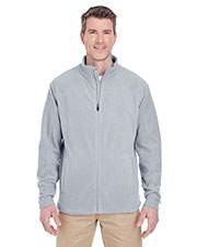 Ultraclub 8185 Adult Men Cool & Dry Full-Zip Microfleece at GotApparel