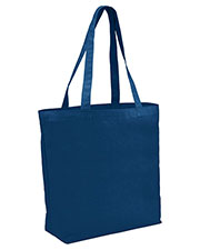 Augusta 832 Unisex Grocery 1 Cotton Canvas Tote Bag OneSize at GotApparel