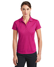 Nike 838961 Women Ladies Dri-FIT Crosshatch Polo. at GotApparel