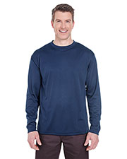 Ultraclub 8401 Men Cool & Dry Sport Long-Sleeve Tee at GotApparel