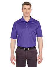 UltraClub 8405 Men Cool & Dry Sport Polo at GotApparel