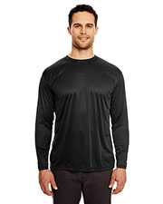 Ultraclub 8422 Men Cool & Dry Sport Long-Sleeve Performance Interlock Tee at GotApparel