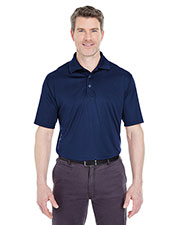 UltraClub 8425 Men Cool & Dry Sport Performance Interlock Polo at GotApparel