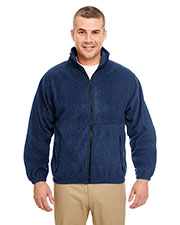 Ultraclub 8485 Men Iceberg Fleece Full-Zip Jacket at GotApparel