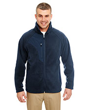 UltraClub 8495 Men MicroFleece Full Zip Jacket at GotApparel