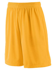 Augusta 849 Boys Long Tricot Mesh Short at GotApparel