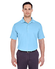 UltraClub 8610 Adult Men Cool & Dry 8 Star Elite Performance Interlock Polo at GotApparel