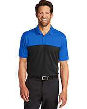 Nike 881655 Men Dri-FIT Colorblock Micro Pique Polo. at GotApparel