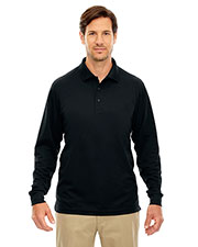 Core 365 88192T Men Tall Pinnacle Performance Long Sleeve Pique Polo at GotApparel