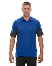 North End 88677 Men Refresh UTK cool.logik Coffee Performance Melange Jersey Polo at GotApparel