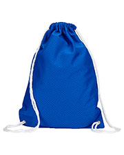 UltraClub 8895 Jersey Mesh Drawstring Sport Pack at GotApparel