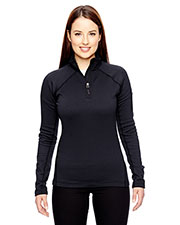 Marmot 89610 Women Stretch Fleece HalfZip at GotApparel