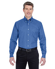 Ultraclub 8970 Men Classic Wrinkle-Free Long-Sleeve Oxford at GotApparel