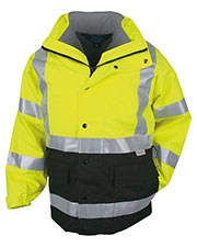 Tri-Mountain 8980 Men Industry Heavyweight Waterproof Safety Parka at GotApparel
