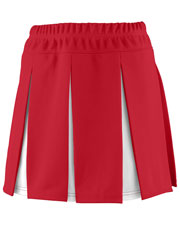 Augusta 9116 Girls Liberty Cheer Skirt With Yoke at GotApparel