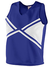 Augusta 9121 Girls Sleeveless V-Neck Explosion Cheer Shell at GotApparel